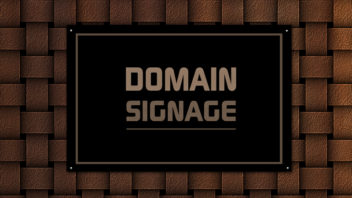 Domain-Signage, Blog Renew