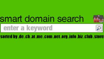Smarte Domain-Suchmaschine