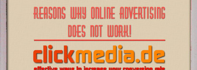 Plakative, Minimalistische Domainwerbung